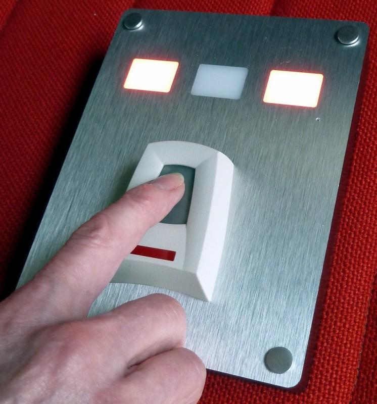 Practical fingerprint security scanner