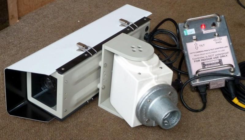 Practical pan & tilt (moveable) CCTV external camera