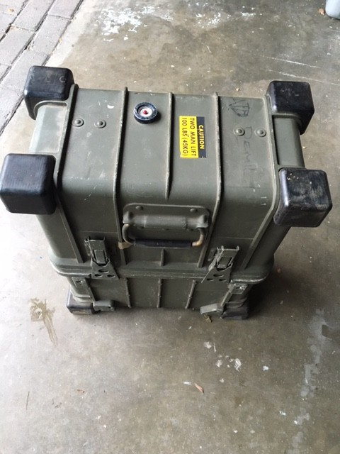 Ruggedised military teleprinter/telex terminal