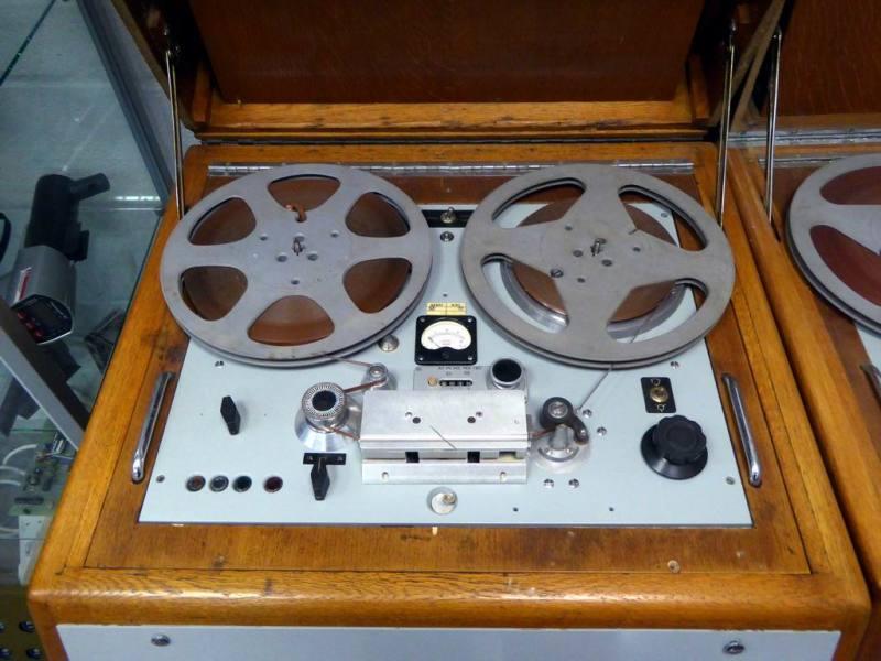 Period BBC editing tape recorders