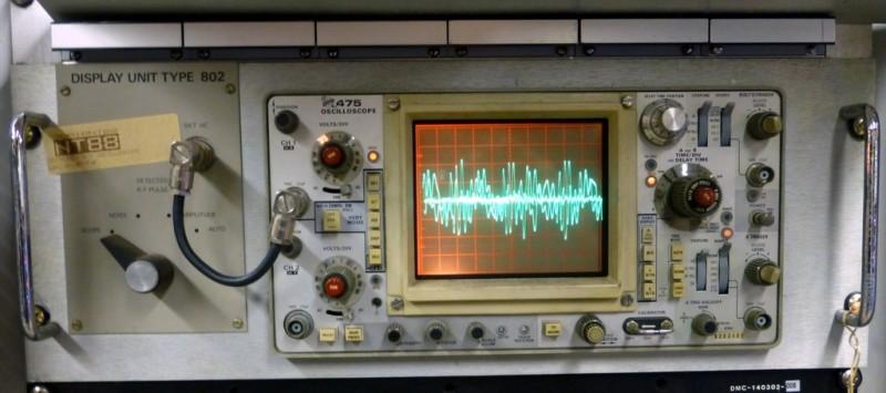 Rack mount oscilloscope