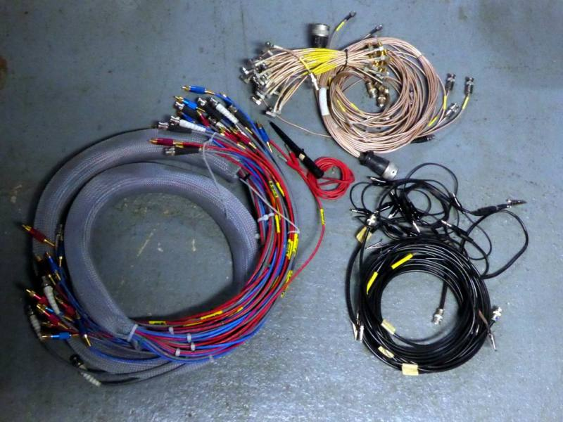 Selection of Colourful dressing cable