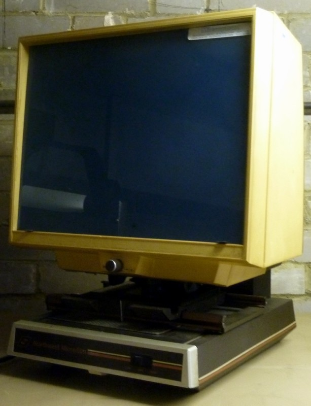 Practical microfiche viewer
