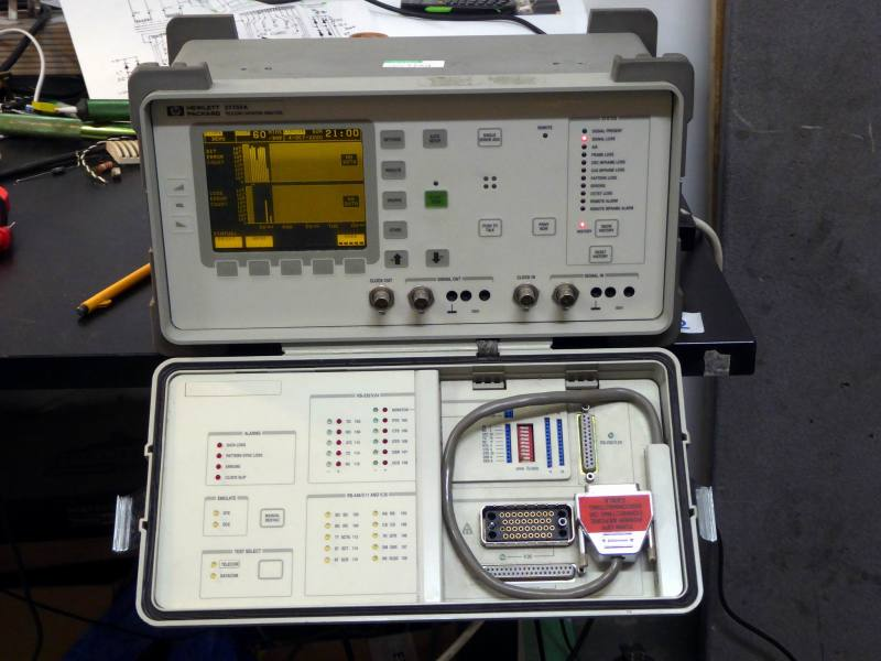 Practical laboratory instrument with yellow graphical screen & closable front