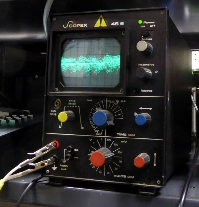 Practical Scopex 4S6 black workbench oscilloscope