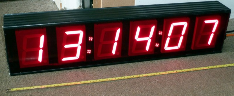 6 digit medium counter/timer/clock