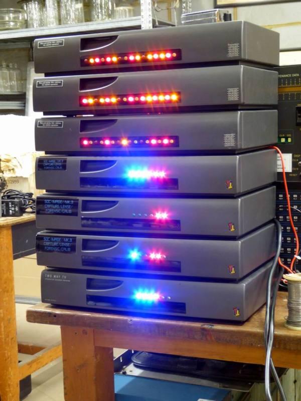 Twinkly practical desktop/shelf mouning boxes