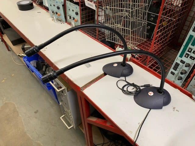 Swan/goose neck lectern microphones