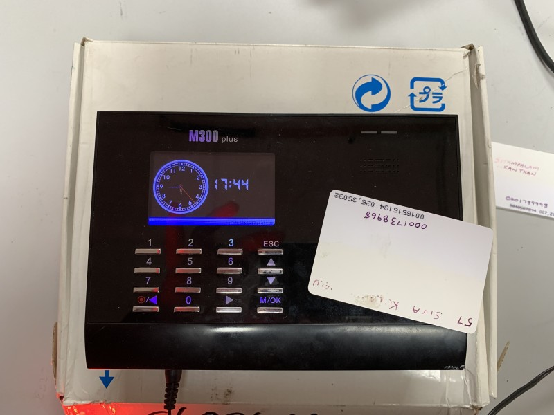 Practical RFID Clocking in machine