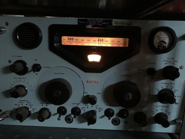 1950s-1960s Racal military navy radio receiver