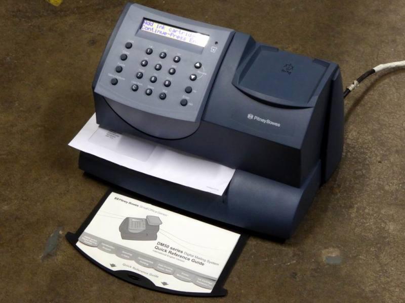 Pitney Bowes postal franking machine