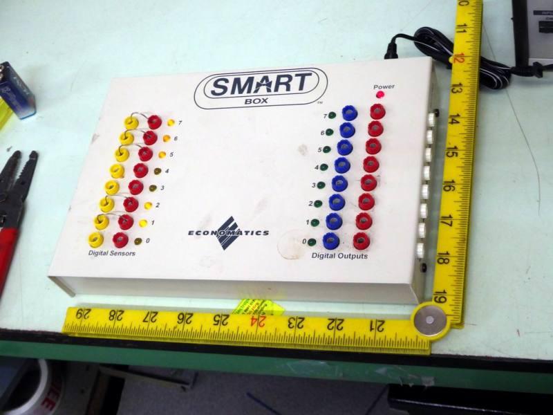Colourful terminal & LED box