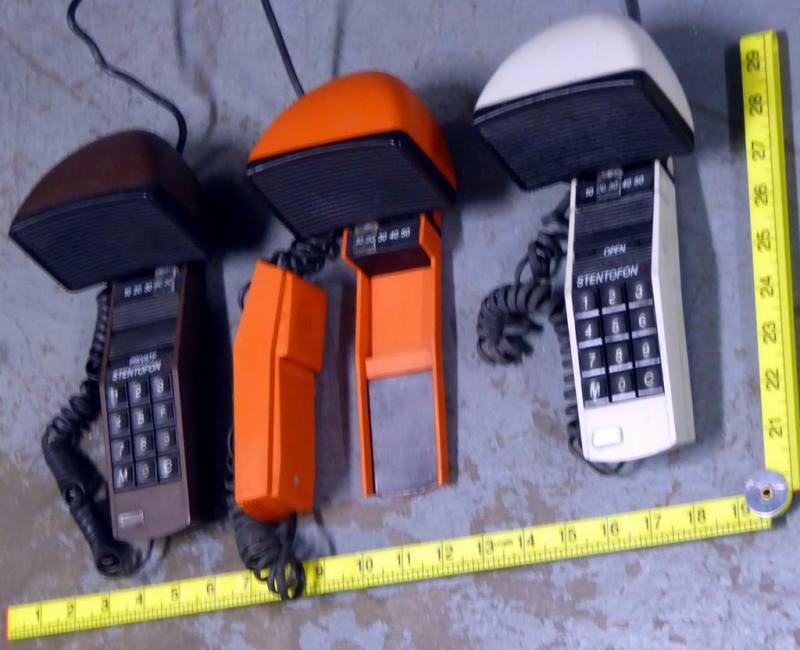 Funky desktop phones/communicators