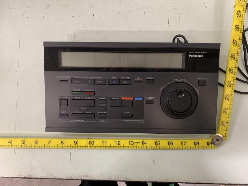 Panasonic Video Editing console
