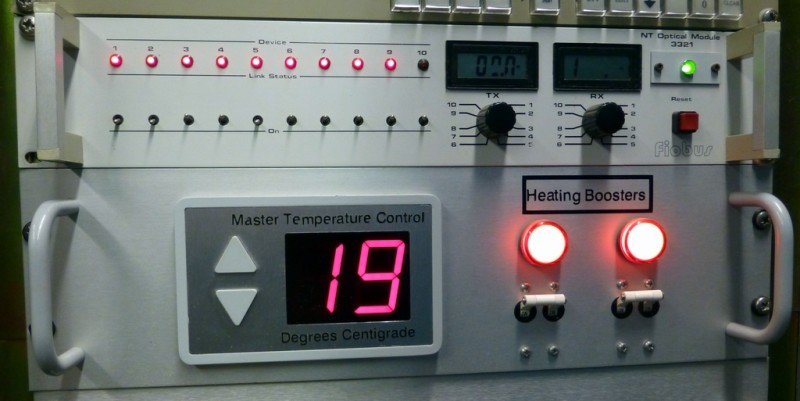 Up/down controllable temperature panel