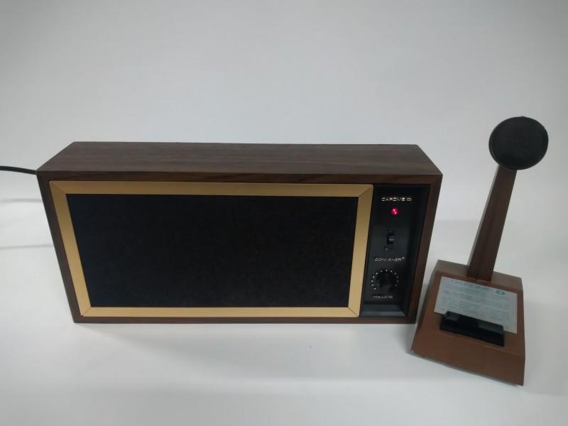 Darome Convener 610B Teleconference System with 4 desktop microphones