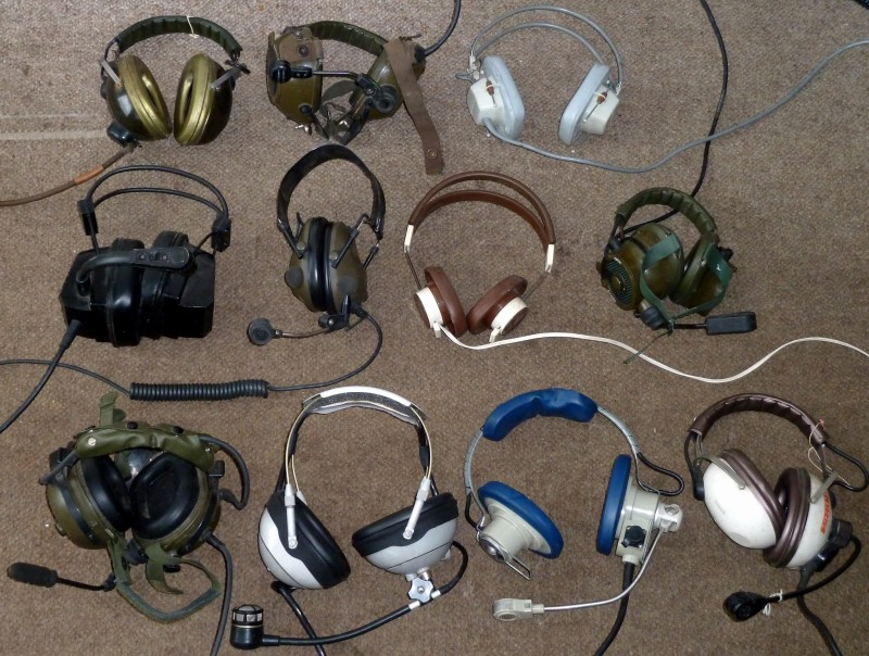 Example Selection of military & period headphones