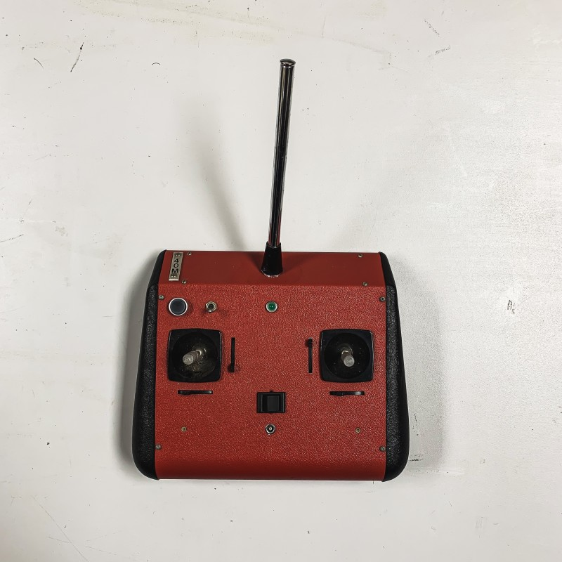 Red hobbyist RC remote control