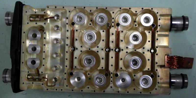 Intricately machined metal block - technical shape
