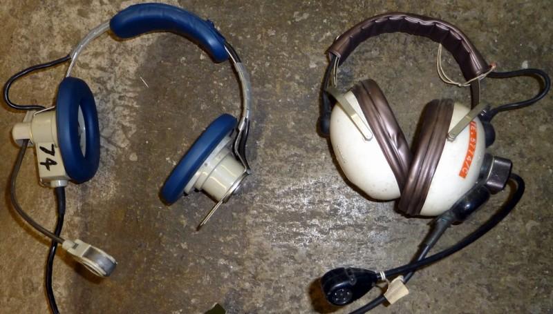 1960s-1970s period headphones