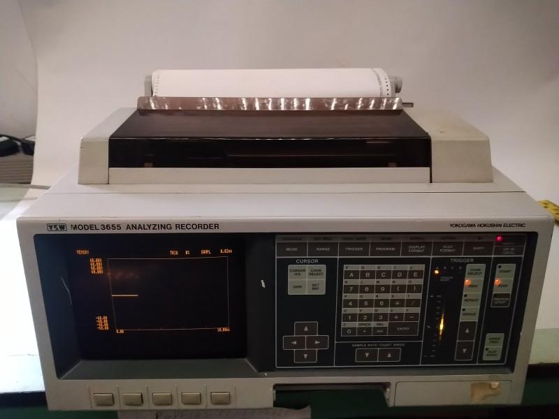 YHE (Yokogawa Hokushin Electric) Model 3655 Analyzing Recorder