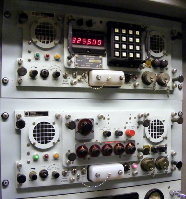 Practical rack mountable navy radio transmitters/receivers