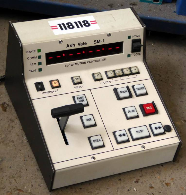 Small video effects console