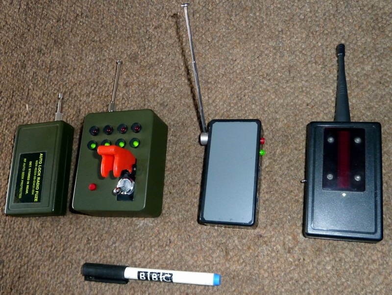 Example Selection of remote control props