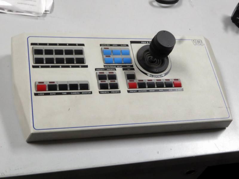 VCL CCTV desktop control console with joystick & buttons
