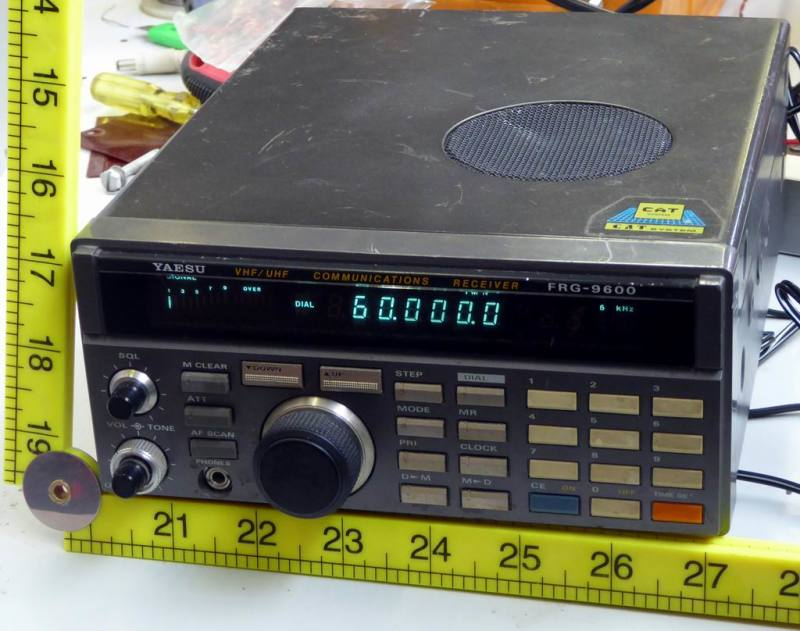 Practical Yaesu desk top radio receiver