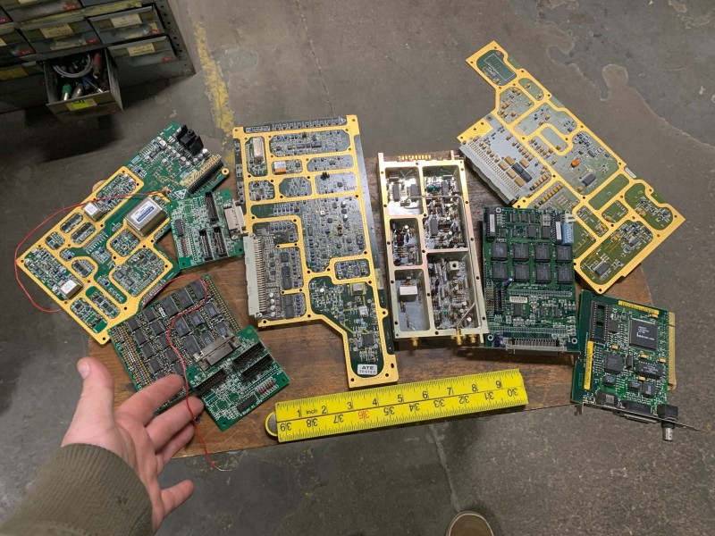 Example Selection of intricate printed circuit boards