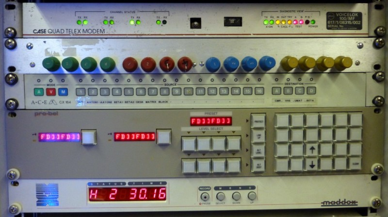 Example Selection of 5 separate control panels