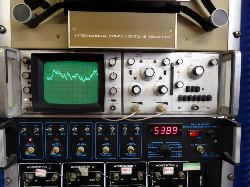 Practical rackmount oscilloscope & black panels