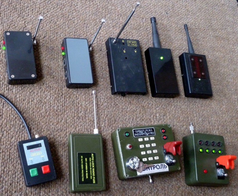 Selection of hand held gadgets