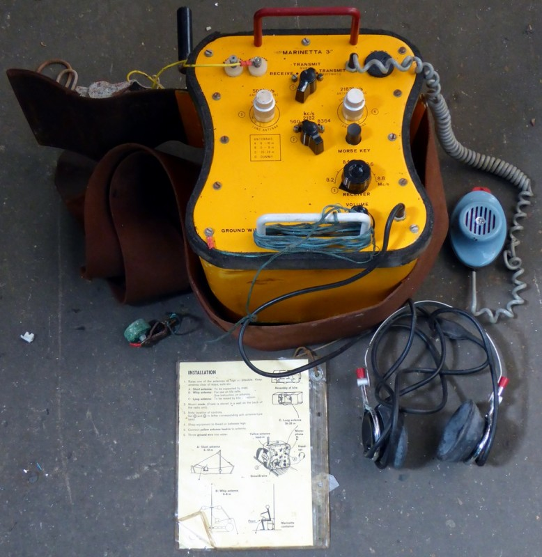 Marinetta lifeboat radio