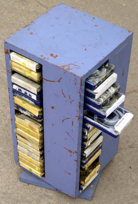 8 track cartridge tapes
