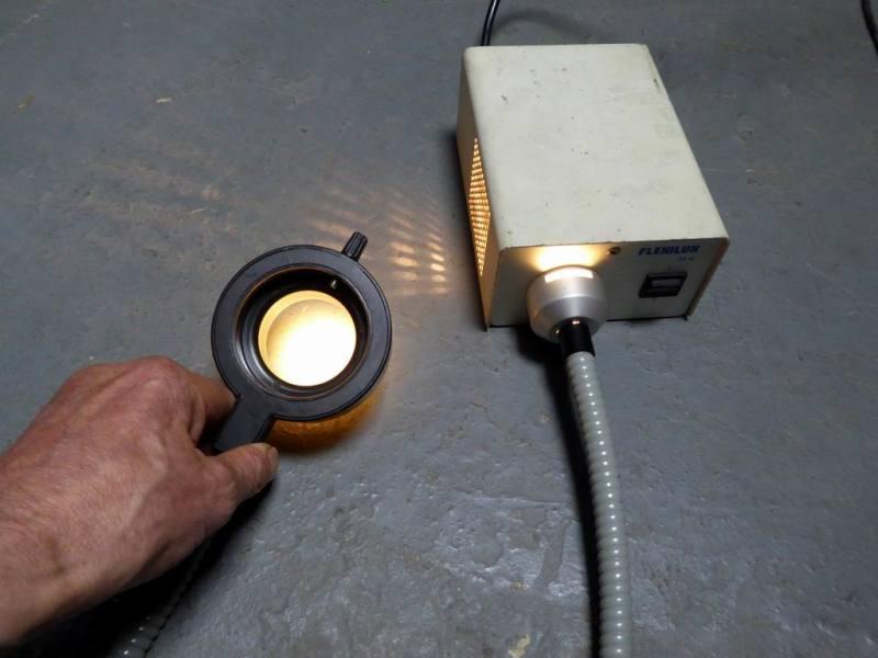 Practical laboratory ring/annular illuminator