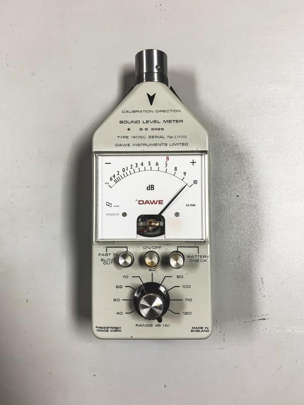 Vintage Sound Level Meter (DAWE) + carry case