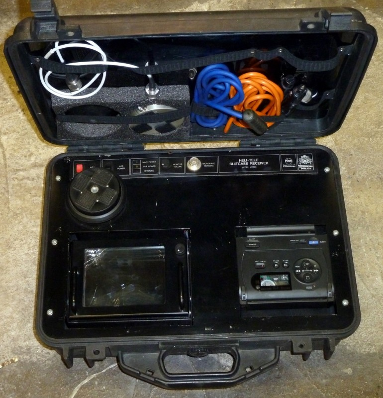 Heli-Tele receiver in Peli case