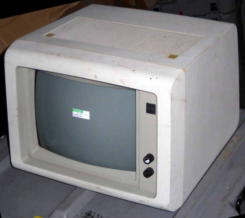 Original IBM PC period monitor