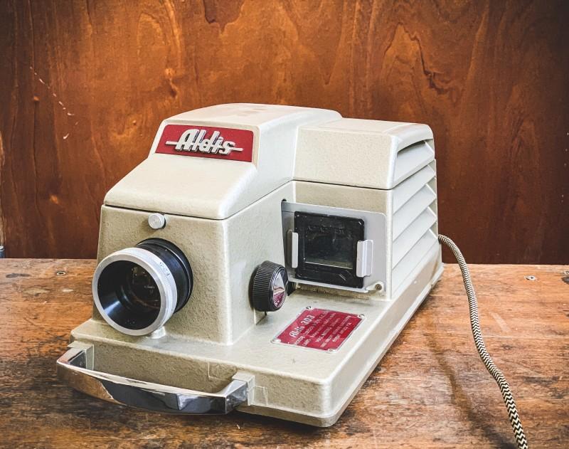 Practical Vintage Aldis  303 Slide projector