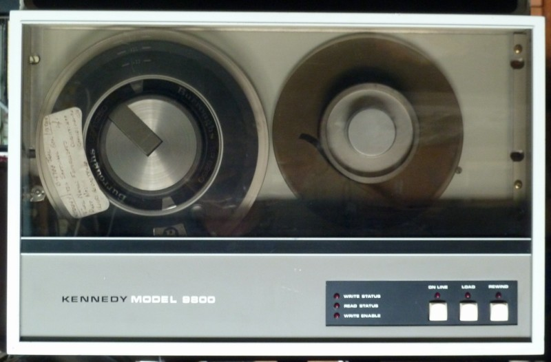 1970s computer reel to reel tape drive
