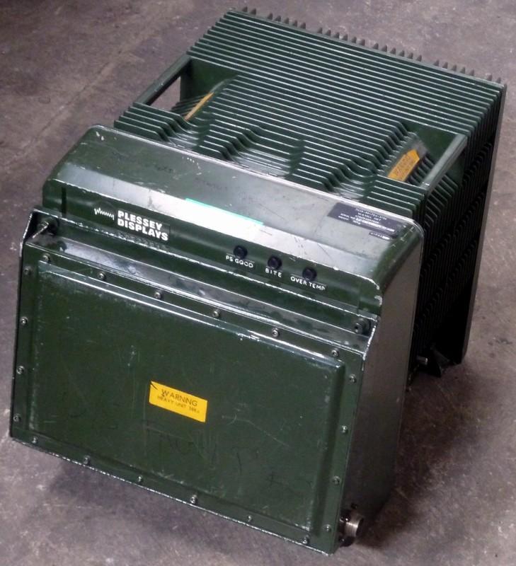 Military khaki coloured battlefield computer