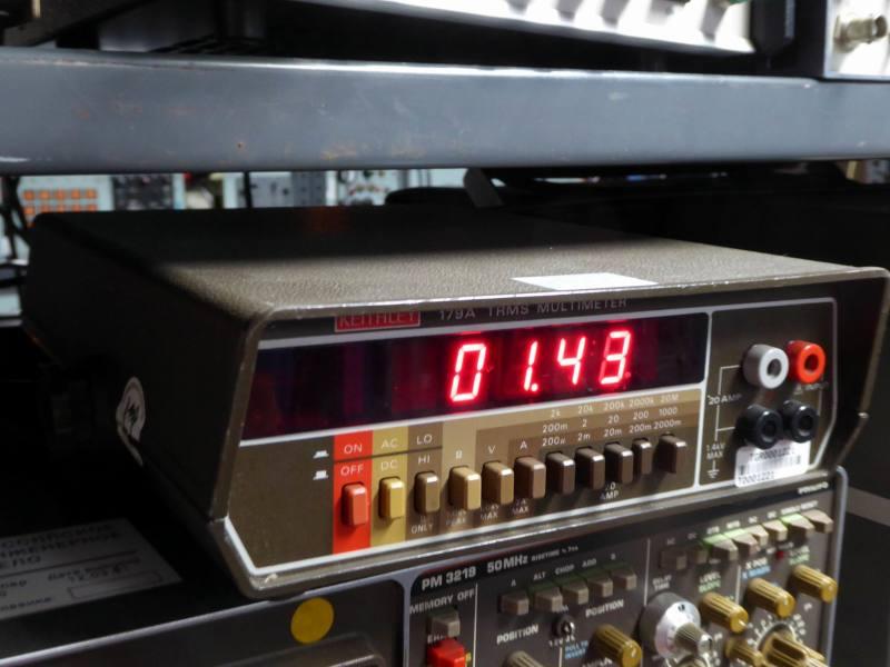 Practical Keithley bench top digital multimeter