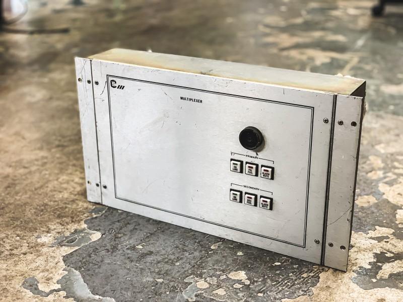 Silver Alarm sounder panel (Multiplexer)