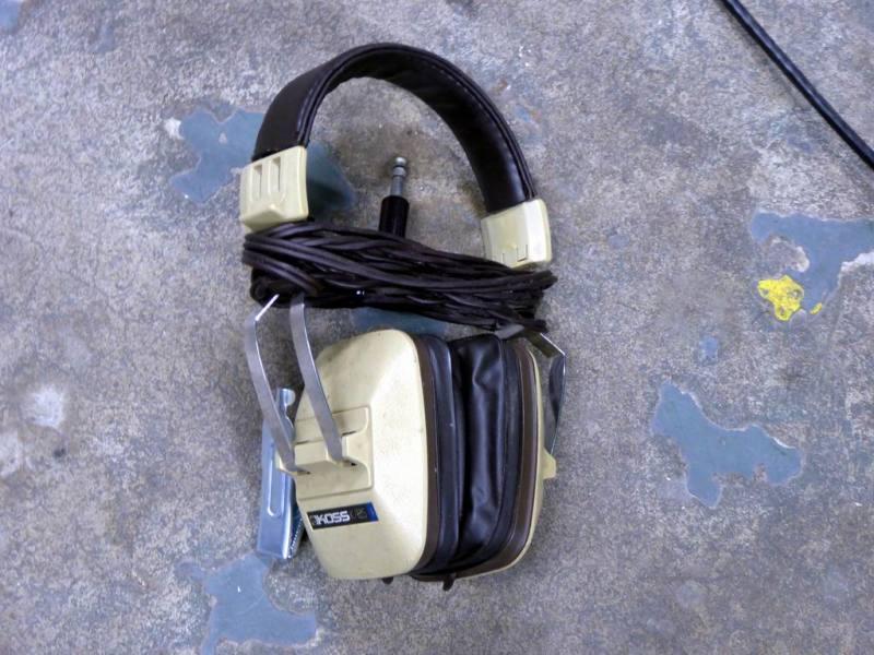 Period beige professional Koss headphones