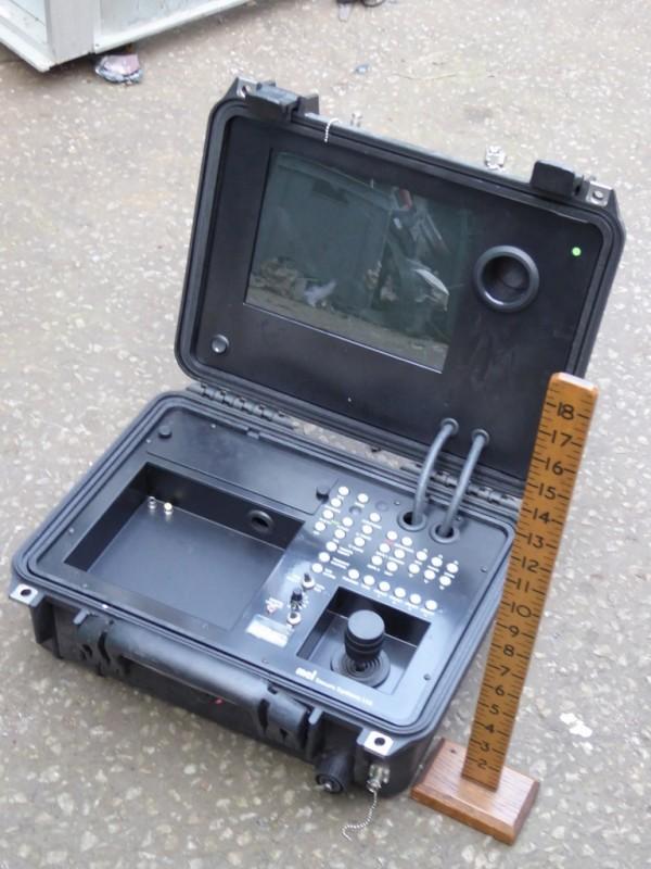 Peli case with joystick & technical contents