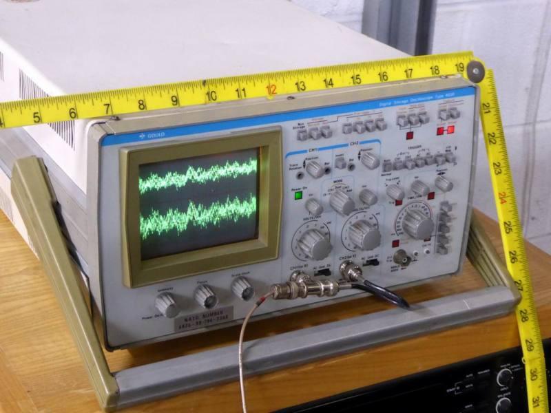 Practical Gould 4030 digital storage laboratory oscilloscope