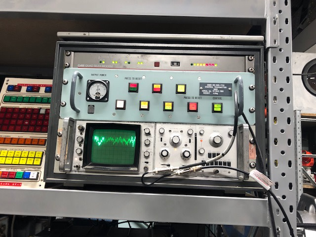 Desktop cab with Practical oscilloscope