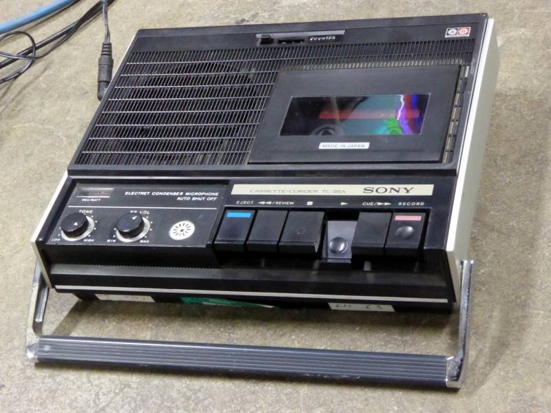 Practical portable Sony Cassette player